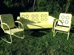 retro metal outdoor furniture leandrocortese info