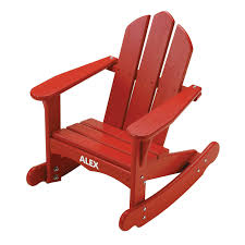 Childrens Rocking Chair Plans Little Colorado Childs Sunroom Adirondack Rocking Chair Hayneedle