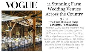 Lancaster Pa Barn Wedding Venues The Farm At Eagles Ridge Voted Top Farm Wedding Venue By Vogue