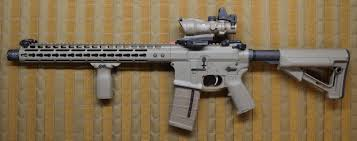 noveske gen iii infidel with trijicon acog and rmr ar15