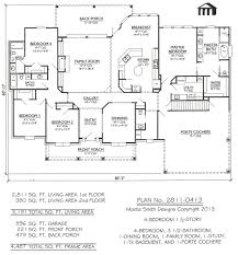46 5 bedroom home plans with basement simple house floor plans 3