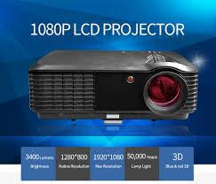 3d home theater projector new high quality led hdmi tv projector led luminous projector