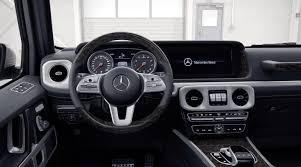 mercedes benz g class interior 2015 benz unveils new 2019 g class interior