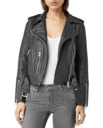 biker jacket allsaints balfern leather biker jacket bloomingdale u0027s