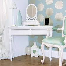 belgravia chic dressing table and mirror white