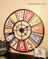 License Plate Map Of The United States by License Plate Clock Ebay