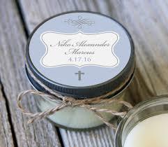personalized baptism favors 60 4 oz baptism favor communion favor soy candle favor