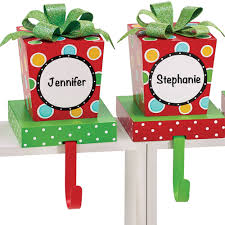 jingle present stocking holder sets