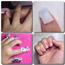 removing gel acrylic nails makeup stash