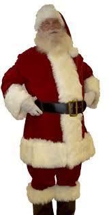 santa suit quality velvet santa suit