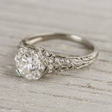 vintage estate engagement rings erstwhile jewelry co vintage antique and estate engagement rings