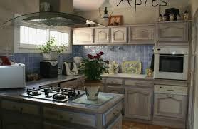 relooker une cuisine relooker cuisine rustique avant après lovely cuisine avant apr s