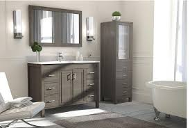 French Bathroom Cabinet by Studio Bathe Corniche 48 Inch Bathroom Vanity French Gray Finish