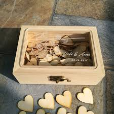 engravable guest book personalized wedding acrylic engraving guest book rustic wedding