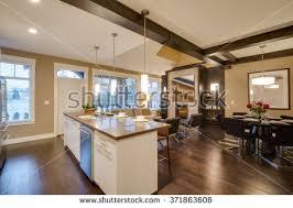 luxury home interiors pictures luxurious home interior large sliding doors stock photo 129899264