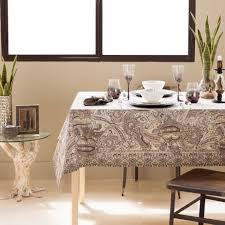 Dining Room Table Cloths Paisley Print Cotton Tablecloth And Napkin Tablecloths