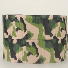 camouflage ribbon 10 yard 1 1 2 38 mm new fashion camouflage ribbon grosgrain