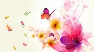 butterfly flowers abstract wallpaper media file pixelstalk