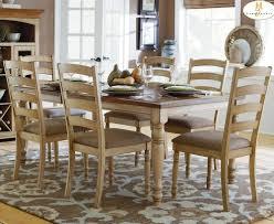 homelegance nash 7 piece rectangular extension dining room set in