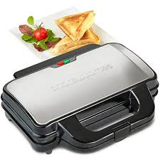Toaster With Sandwich Maker Andrew James 900w Deep Fill Toastie Maker For 2 X Extra Thick