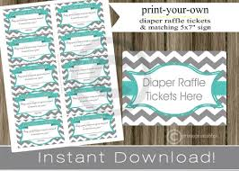 baby shower raffle ideas baby shower raffle tickets with matching sign teal gray