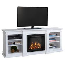 electric fireplace tv stand white dact us
