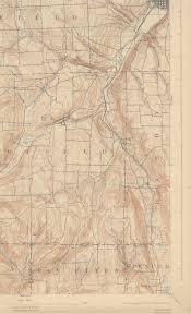 Ithaca Ny Map Ithaca Ny Quadrangle