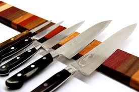 Best Way To Store Kitchen Knives Rainbow Wood Magnetic Knife Strip 17 Steps With Pictures