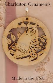 unique wooden owl ornament owl ornament free engraving owl