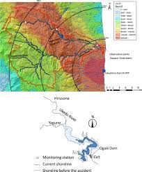 Fukushima Fallout Map by Sediment And 137cs Transport And Accumulation In The Ogaki Dam Of