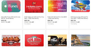 gift cards deals ebay gift card deals on southwest exxon sunoco itunes and more