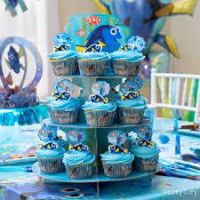 Cupcake Decorating Party Dory Essential Decorations Idea Party City