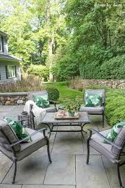 Patio Around Tree Summer Simplified Simple Outdoor Decorating Ideas Driven By Decor