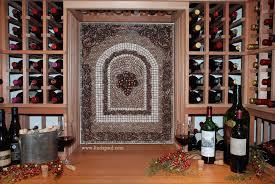 Grapes Mosaic Tile Medallion Kitchen Backsplash Mural Mosaics - Tile mosaic backsplash