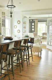 Wooden Breakfast Bar Stool Charming Striking French Country Kitchen Flooring Ideas Of Solid