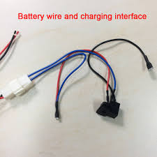 children electric car diy modified circuit wires and switch self