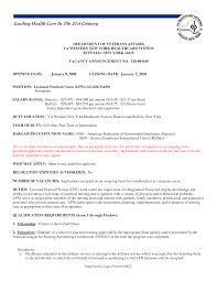 licensed practical nurse resume format licensed practical nurse resume sample resume for study