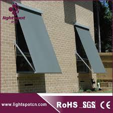 Awning Components Sliding Rail Drop Arm Awning Building Window Sunshade Sliding