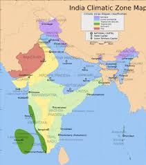 Maharashtra Blank Map by India Climatic Map Maps Of India