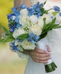 blue wedding bouquets 75 best blue weddings images on wedding bouquets