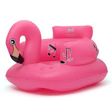 canapé enfants siège de bain à manger chaise flamingo gonflable canapé poussette