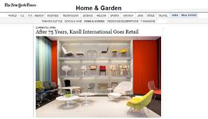home design store new york the new york times announces june 13 knoll home design store opening