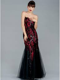 black and red lace wedding dresses naf dresses