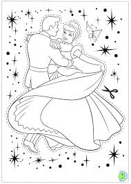 princess cinderella coloring pages dance 806 princess cinderella