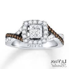 chocolate wedding rings chocolate ring carat tw k white gold runuplabs