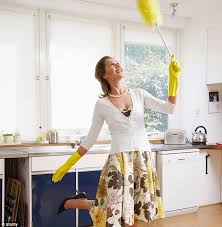 how to spring clean your house spring clean burns more calories than marathon daily mail online