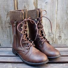 sweater lined foldover combat boots sale the brown combat sweater boots sweater boots