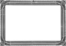 certificate frame certificate frame clipart