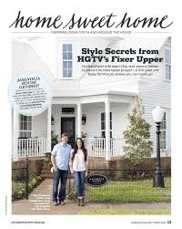 Joanna Gaines Magazine Buff Strickland Country Living Magazine Homestead Creatives