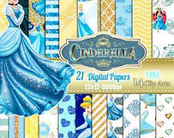 cinderella wrapping paper cinderella digital paper scrapbooking backgrounds princess